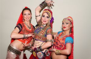 Entwined Bellydance performers