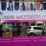 Lavadene Hair Extensions - Shop front