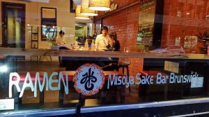 Ramen Misoya Sake 1