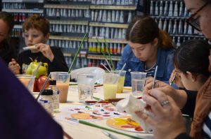 Paint Workshop @ Deans Art