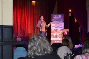 Michael Reynolds - Hosting Writers Cup 2019