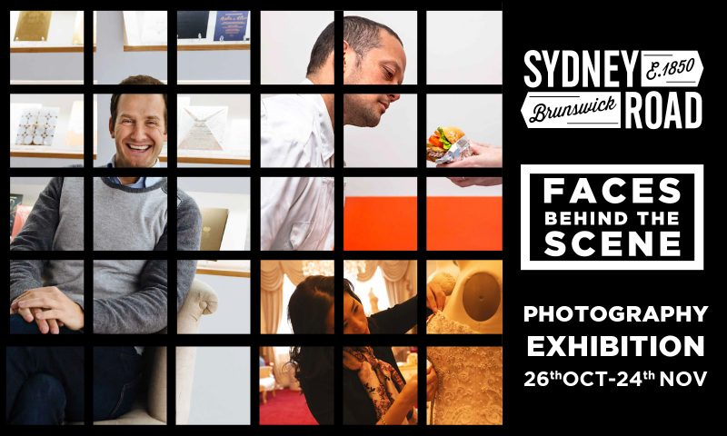 SRBA Faces Behind the Scene exhibition flyer