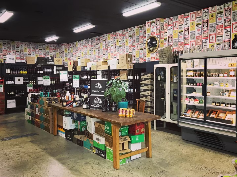 Local Bottle Store Interior