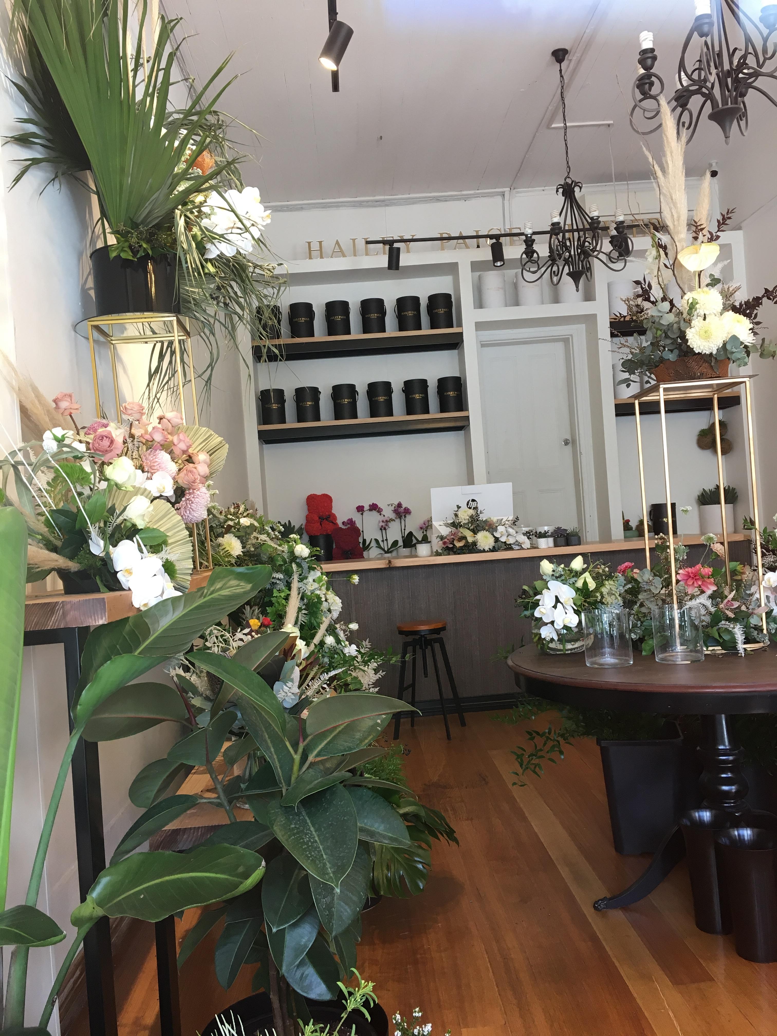 Flower shop full of flowers