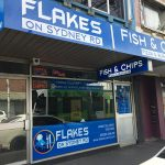 Exterior of a fish and chip shop