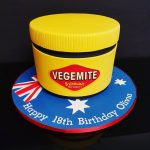 Vegemite themed Birthday cake
