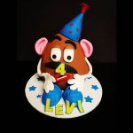 Mr Potato Head themed children's Birthday cake