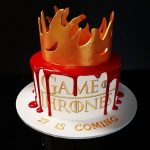 Game of Thrones themed Birthday cake