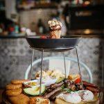 Breakfast tower