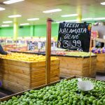 Fresh kalamata olives