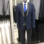 Mannequin wearing mens suit