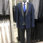 Mannequin wearing mens suit
