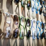 pairs of glasses and sunglasses