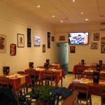 Ethiopian Restaurant Interior