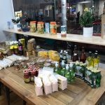 Food product on display in restaurant