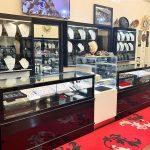 Jewellery shop display cases