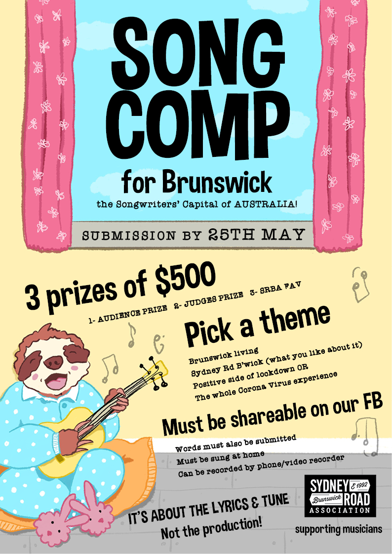 Song Competition Poster