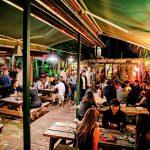 Pub's beer garden
