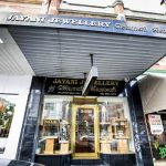 Gold jewellery shop exterior