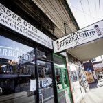 Barber shop exterior