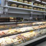 Supermarket deli cheese