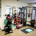 Physiotherapy office gym