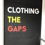 Aboriginal Clothing Store Roller Door