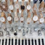 Rows of watches
