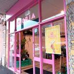 Pink Cafe Exterior