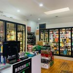 Bottle shop interior