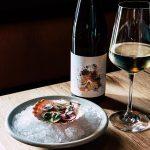 Gourmet food with wine pairing