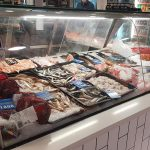 Fresh fish on display