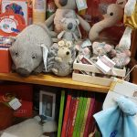 Soft toys and children's books
