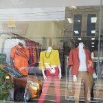 Secondhand shop window