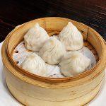 Dumplings in bamboo basket