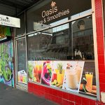 Juice and smoothie business exterior