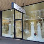 Bridal gown exterior shop