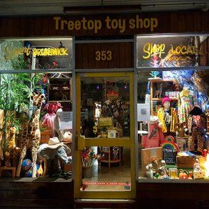 Toy shop window display